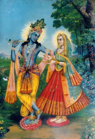 Radheyshyam  / Lord RadhaKrishna - image from Hindu Mythology